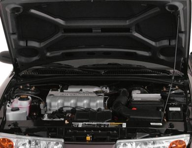 Engine Bay  2000 Saturn SL1