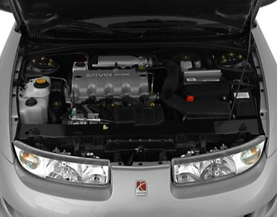 Engine Bay  2000 Saturn SC1