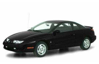 3/4 Front Glamour 2000 Saturn SC2