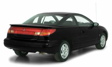 3/4 Rear Glamour  2000 Saturn SC2