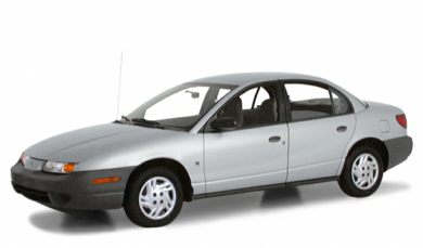 3/4 Front Glamour 2000 Saturn SL