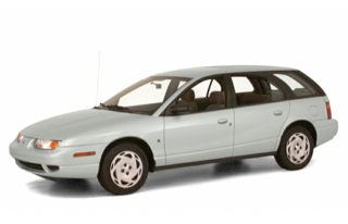 3/4 Front Glamour 2000 Saturn SW2