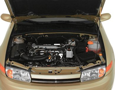 Engine Bay  2000 Saturn LS
