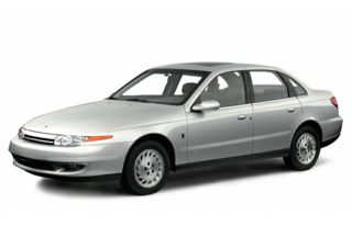 3/4 Front Glamour 2000 Saturn LS1
