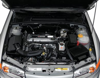 Engine Bay  2000 Saturn LS1