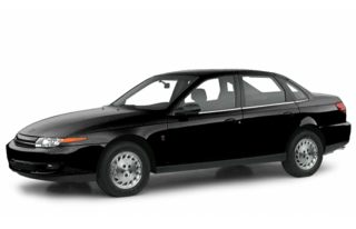 3/4 Front Glamour 2000 Saturn LS2