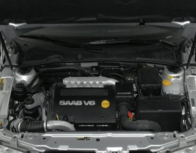 Engine Bay  2000 Saab 9-5