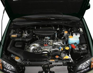 Engine Bay  2000 Subaru Outback