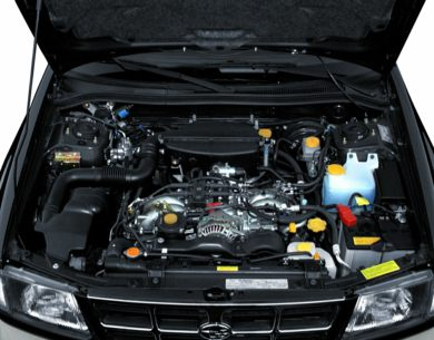 Engine Bay  2000 Subaru Forester