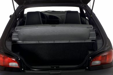 Trunk/Cargo Area/Pickup Box 2000 Suzuki Swift
