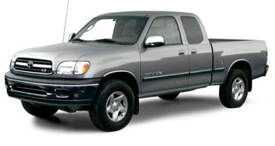 3/4 Front Glamour 2000 Toyota Tundra