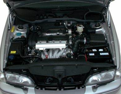 Engine Bay  2000 Volvo S70