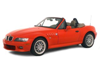 3/4 Front Glamour 2001 BMW Z3