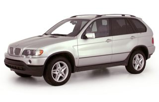 3/4 Front Glamour 2001 BMW X5
