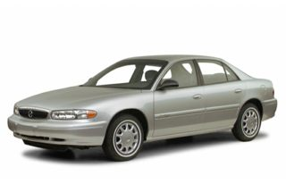 3/4 Front Glamour 2001 Buick Century