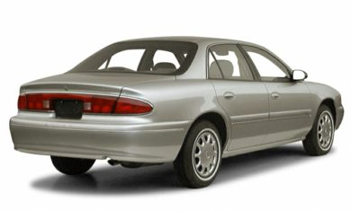 3/4 Rear Glamour  2001 Buick Century