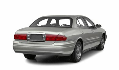 3/4 Rear Glamour  2001 Buick LeSabre