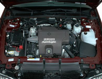 Engine Bay  2001 Buick Park Avenue