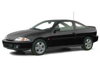 3/4 Front Glamour 2001 Chevrolet Cavalier
