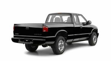 3/4 Rear Glamour  2001 Chevrolet S-10