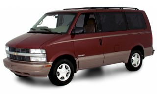 3/4 Front Glamour 2001 Chevrolet Astro