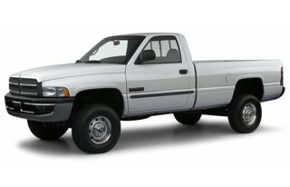 3/4 Front Glamour 2001 Dodge Ram 2500