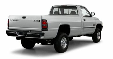 3/4 Rear Glamour  2001 Dodge Ram 2500