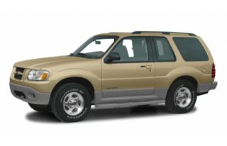 3/4 Front Glamour 2001 Ford Explorer Sport