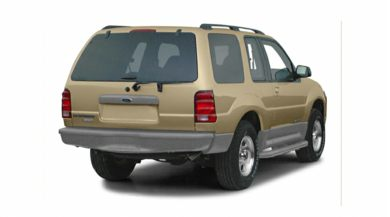 3/4 Rear Glamour  2001 Ford Explorer Sport