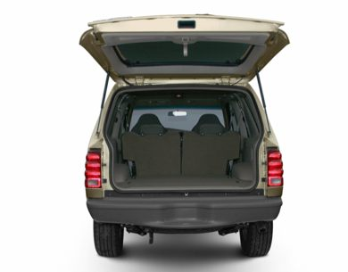 Trunk/Cargo Area/Pickup Box 2001 Ford Explorer Sport