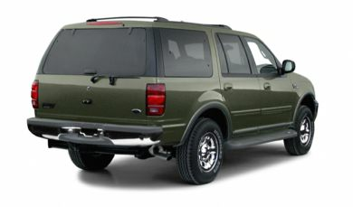 3/4 Rear Glamour  2001 Ford Expedition