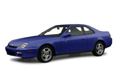 3/4 Front Glamour 2001 Honda Prelude