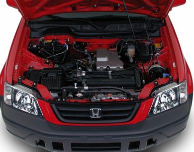 Engine Bay  2001 Honda CR-V