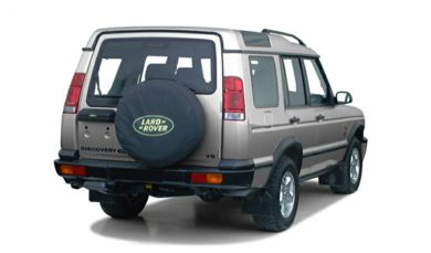 3/4 Rear Glamour  2001 Land Rover Discovery