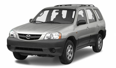 3/4 Front Glamour 2001 Mazda Tribute