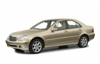 3/4 Front Glamour 2001 Mercedes-Benz C240