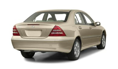 3/4 Rear Glamour  2001 Mercedes-Benz C320