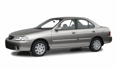 3/4 Front Glamour 2001 Nissan Sentra