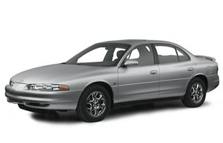 3/4 Front Glamour 2001 Oldsmobile Intrigue