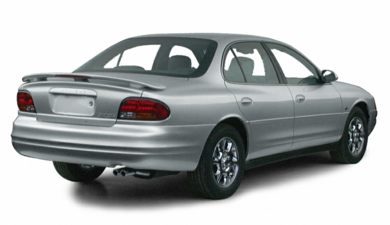 3/4 Rear Glamour  2001 Oldsmobile Intrigue