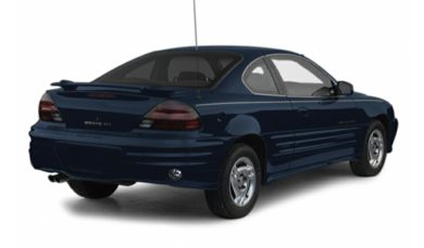 3/4 Rear Glamour  2001 Pontiac Grand Am