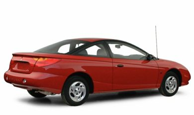 3/4 Rear Glamour  2001 Saturn SC1