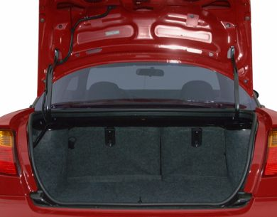 Trunk/Cargo Area/Pickup Box 2001 Saturn SC1