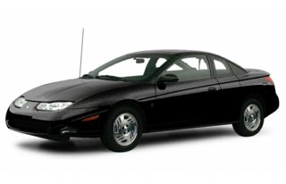 3/4 Front Glamour 2001 Saturn SC2