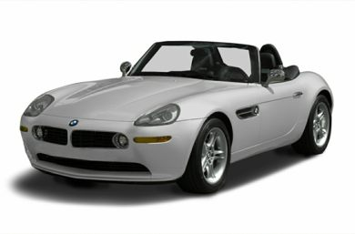 3/4 Front Glamour 2002 BMW Z8