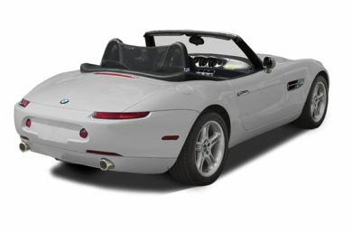 3/4 Rear Glamour  2002 BMW Z8