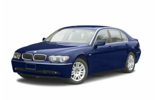 3/4 Front Glamour 2002 BMW 745