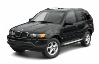 3/4 Front Glamour 2002 BMW X5