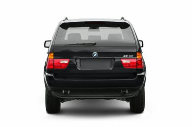Rear Profile  2002 BMW X5
