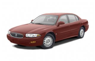 3/4 Front Glamour 2002 Buick LeSabre